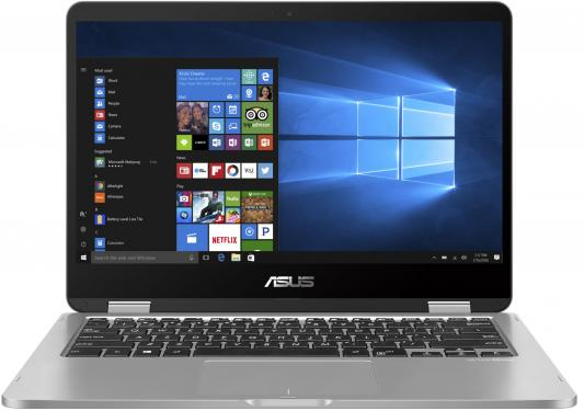 ASUS VivoBook Flip 14 TP401MA-EC011T Pentium N5000/4Gb/128Gb eMMC/Intel HD graphics 605/14.0/FHD TOUCH (1920x1080)AG/WiFi/BT/Cam/Windows 10/1,4kg/LIGHT_GREY_METAL трансформер asus vivobook flip 14 tp401ma ec011t intel n5000 4gb 128gb ssd 14 0 fullhd touch win10 grey