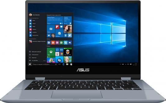 ASUS VivoBook Flip 14 XMAS TP412UA-EC210T Core i3 8130/4Gb/256Gb SSD/Intel HD graphics 615/./FHD TOUCH (1920x1080)AG/WiFi/BT/Cam/Windows /,5kg/SILVER BLUE