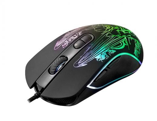 цена Мышь проводная QUMO Gothic M51 чёрный USB 24122 в интернет-магазинах