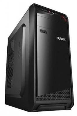 Корпус ATX Delux DW605 Без БП чёрный