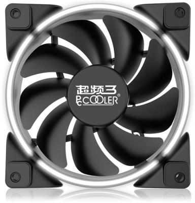 PCCooler Вентилятор CORONA WHITE 120x120x25 мм (PWM, 40шт./кор, пит. от мат.платы и БП, 800-1800 об/мин) Retail