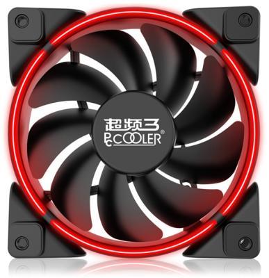 PCCooler Вентилятор CORONA RED 120x120x25 мм (PWM, 40шт./кор, пит. от мат.платы и БП, 800-1800 об/мин) Retail