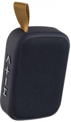 Perfeo Bluetooth-колонка BRICK MP3, microSD, USB, AUX, мощность 3Вт, 500mAh, черная колонка monoprice portable bluetooth 10949 nfc brick black
