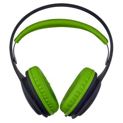 Наушники Perfeo ONTO черный зеленый PF_A4410