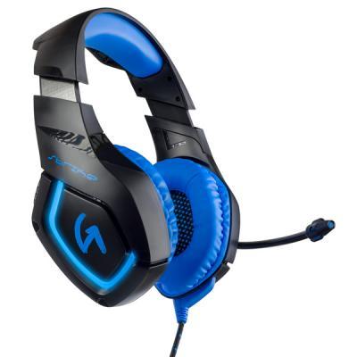 Игровая гарнитура проводная Perfeo GUARD черный синий PF_A4429