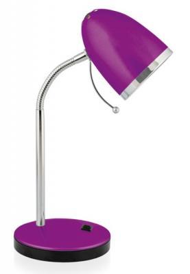 цена на Camelion KD-308 C12 фиолетовый (Светильник настольный,230V 40W E27)
