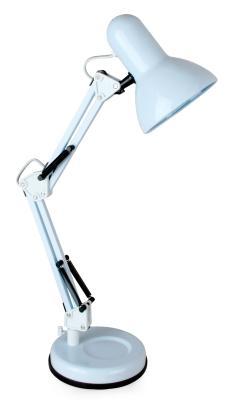 Купить Camelion KD-313 C01 белый (Светильник настольный, 230V 60W, E27)