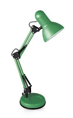 Camelion KD-313 C05 зелёный (Светильник настольный,230V 60W, E27)