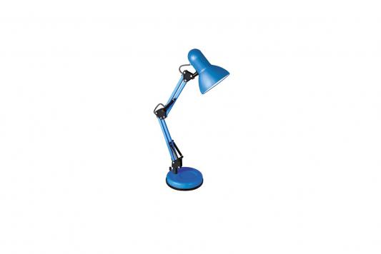 Camelion KD-313 C06 синий (Светильник настольный,230V 60W, E27) настольный светильник camelion kd 380 c06 синий e27 40 вт