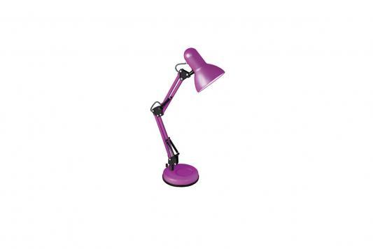Camelion KD-313 C15 пурпурный (Светильник настольный,230V 60W, E27) настольный светильник camelion kd 380 c06 синий e27 40 вт