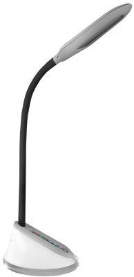 Camelion KD-799 C03 серебро LED (Свет-к наст.,7 Вт,230В, сенс.вкл, 3 ур.ярк, RGB-подсветка) напольный светильник camelion kd 309 c03 silver