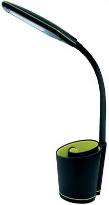 Фото - Camelion KD-813 C44 черн.& жёлт. LED (Свет-к наст.,5 Вт, сенс.,3 ур.ярк, органайзер,USB разъём 2А) 813 ottotredici палантин