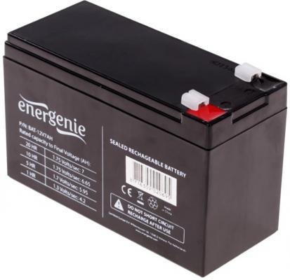 Gembird/Energenie Аккумулятор для Источников Бесперебойного Питания BAT-12V7.2AH аккумулятор для ибп gembird energenie bat 12v17ah 4