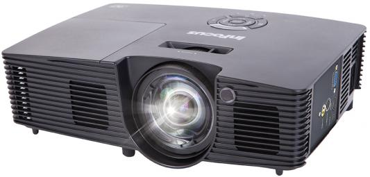 INFOCUS IN116xv {(Full 3D) DLP, 3500 ANSI Lm, WXGA, 16 000:1, HDMI 1.4b, VGA, Composite, S-video, Mini USB (B), лампа 15 000ч.(ECO mode), 2.5 кг} avstar av 3500 vga to s video converter silvery white