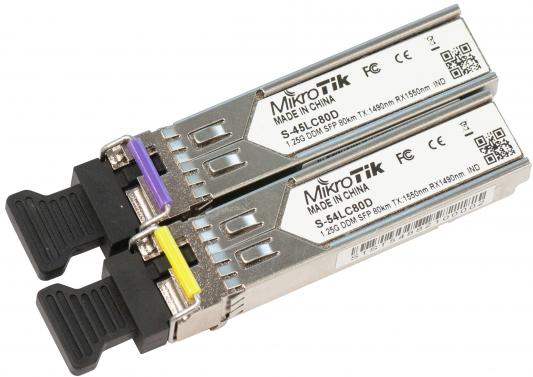 MikroTik S-4554LC80D пара модулей S-45LC80D (1.25G SM 80km TX 1490nm/ RX 1550nm, Single LC connector)+S-54LC80D (1.25G SM 80km TX 1550nm / RX 1490nm,Single LC connector) f08191 c diy drone upgraded full kit s500 pcb 1045 3 propeller 4axle multi quadcopter rtf arf with 10ch tx rx 3300mah lipo fs
