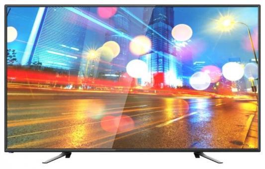 Телевизор 55&quot, Hartens HTV-55F01-T2C/A7/B черный 1920x1080 Wi-Fi Smart TV VGA Для наушников