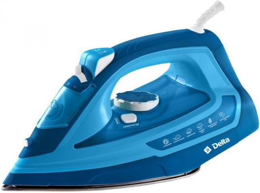 Утюг DELTA DL-865 синий утюг delta dl 713 white turquoise