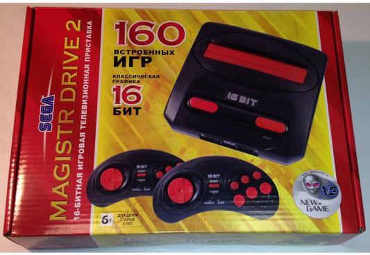 SEGA Magistr Drive 2 Little (160 встроенных игр) [ConSkDn58] sega magistr drive 2 игровая приставка 9 игр