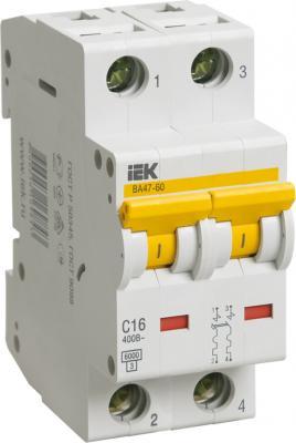 Iek MVA41-2-025-C Авт.выкл. ВА 47-60 2Р 25А 6 кА х-ка С ИЭК