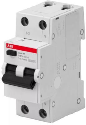 ABB 2CSR645041R1204 Выкл. авт. диф. тока, 1P+N, 20А, C, 4.5kA, 30мА, AC, BMR415C20
