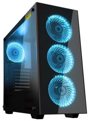Корпус ATX GameMax Draco New W902 Без БП чёрный корпус atx gamemax starlight b blue без бп синий чёрный