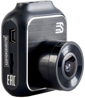 Видеорегистратор Silverstone F1 A35-FHD черный 1.3Mpix 1080x1920 1080p 140гр. CV1247 видеорегистратор fhd 1080p цена
