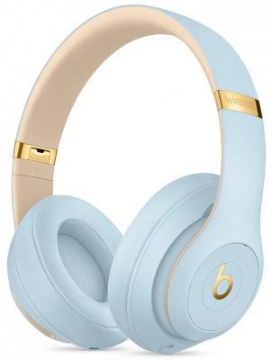лучшая цена Гарнитура Apple Beats Studio3 - Skyline Collection голубой MTU02EE/A