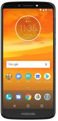 Смартфон Lenovo MOTO E5 Plus 32 Гб серый (PABA0023RU) смартфон motorola moto e5 plus 32gb xt1924 1 grey