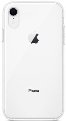 Накладка Apple MRW62ZM/A для iPhone XR прозрачный чехол клип кейс apple для apple iphone xr mrw62zm a прозрачный