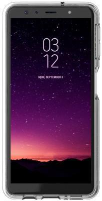 Чехол (клип-кейс) Samsung для Samsung Galaxy A7 (2018) Araree J Cover прозрачный (GP-A750KDCPAIA) чехол клип кейс samsung araree j cover для samsung galaxy j4 2018 прозрачный [gp j400kdcpaia]
