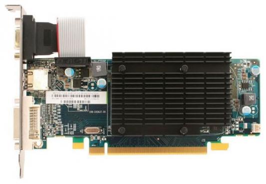 Видеокарта Sapphire PCI-E 11166-67-20G AMD Radeon HD 5450 1024Mb 64bit DDR3 650/1334 DVIx1/HDMIx1/CRTx1/HDCP Ret low profile видеокарта asus pci e gt740 dcsl 2gd3 nvidia geforce gt 740 2048mb 128bit ddr3 993 1782 dvix1 hdmix1 crtx1 hdcp ret