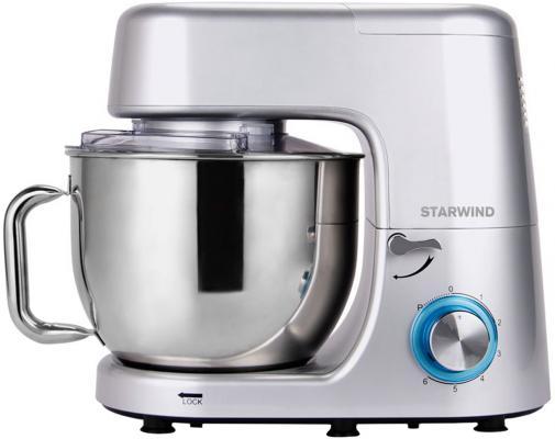 Миксер стационарный Starwind SPM8183 1600Вт серебристый цена и фото