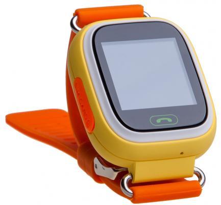 Детские умные часы Prolike PLSW90OR, оранжевые цена и фото