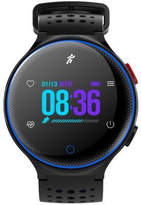 Умные часы Prolike с измерением давления PLSW1000CBL color с цветным дисплеем, голубые детские умные часы prolike plsw50bl голубые
