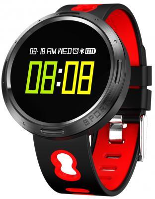 лучшая цена Умные часы Prolike с измерением давления, черно-красные PLSW4000R