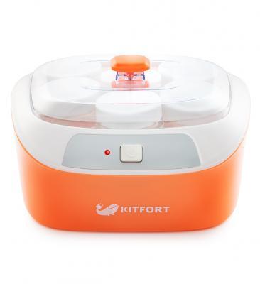 Картинка для 2020-КТ Йогуртница Kitfort Мощность: 20 Вт.Длина шнура: 0,77 м.Класс защиты от поражения электрич.