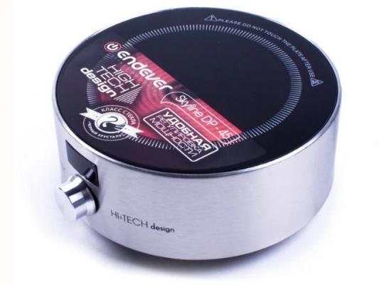 Электроплитка ENDEVER DP-45B серебристый чёрный ab 45b black