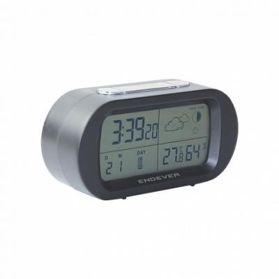 Часы настольные ENDEVER RealTime 31 серый