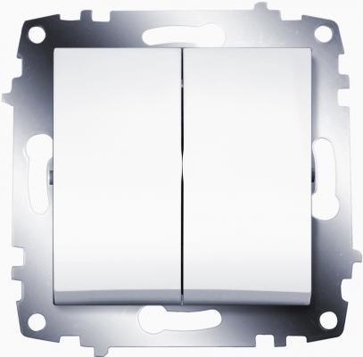 Выключатель ABB COSMO 619-010200-202 белый 2 кл