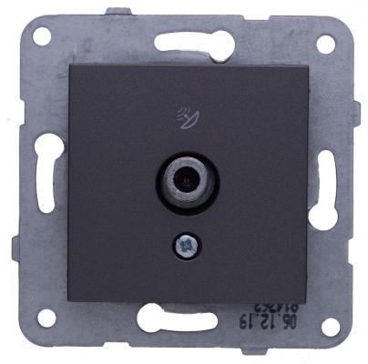 Механизм розетки PANASONIC WKTT0452-2DG-RES Karre Plus TV проходная 12dB темно-серый