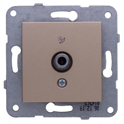 Механизм розетки PANASONIC WKTT0451-2BR-RES Karre Plus TV концевая бронза
