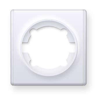 Рамка ONEKEYELECTRO1E52101300 1-м Florence бел