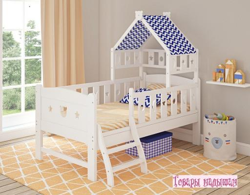 цены на Кровать подростковая 160x80см Giovanni Dommy (white-blue)  в интернет-магазинах