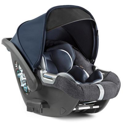 Купить Автокресло Inglesina CAB для коляски Aptica (indigo denim), Синий, Джинс, Группа 0+ (0-13кг/от рождения до 1 года)