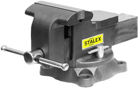 Тиски слесарные STALEX Горилла M60D 150 х 125 мм. 360°. 14.0 кг. угловой зажим stalex ac 100 376302