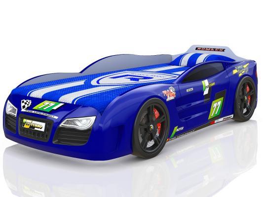 Купить со скидкой Кровать-машина 180х80см Romack Renner 2 (синий)