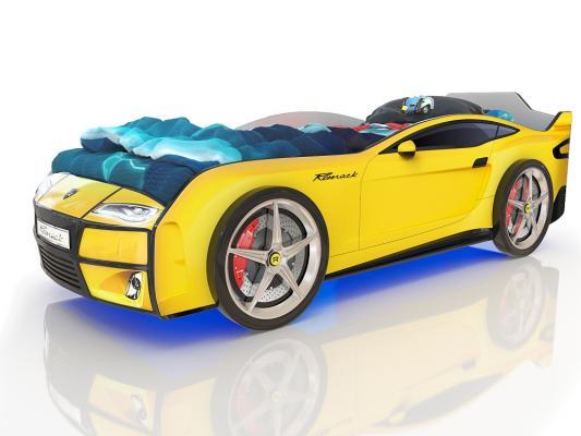 Купить со скидкой Кровать-машина Romack 3D Dreamer (желтый)