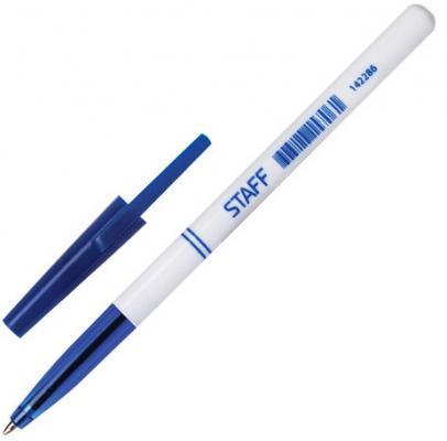 Ручка шариковая STAFF Офисная синий 0.35 мм baoke 1no850 офисная ручка ручка для записи