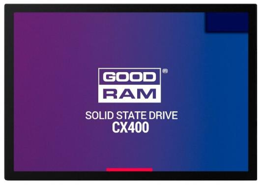 Твердотельный накопитель SSD 2.5 256 Gb Goodram SSDPR-CX400-256 Read 550Mb/s Write 490Mb/s 3D NAND TLC