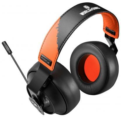 Игровая гарнитура проводная Cougar CGR-P53NT-50 оранжевый черный мышь cougar 530m серебристый usb cgr woms 530